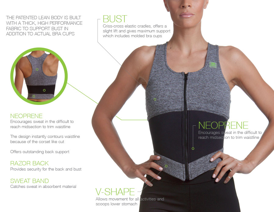 Lean Body Sports Bra Brochure