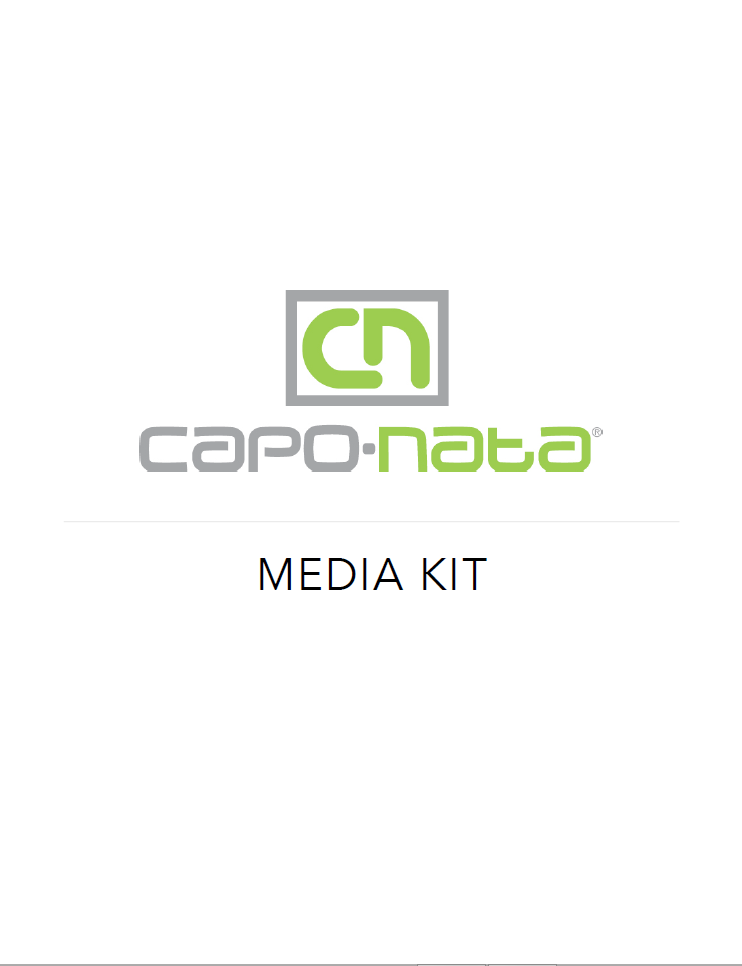 Capo-Nata press kit cover